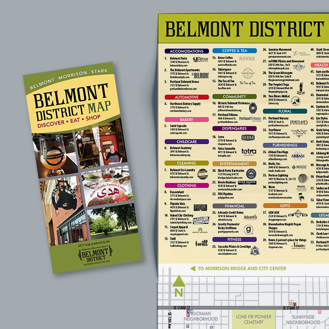 Business District Maps
